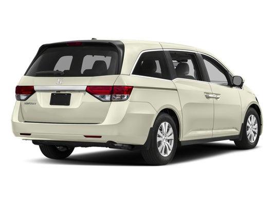2017 Honda Odyssey >> 2017 Honda Odyssey Ex L
